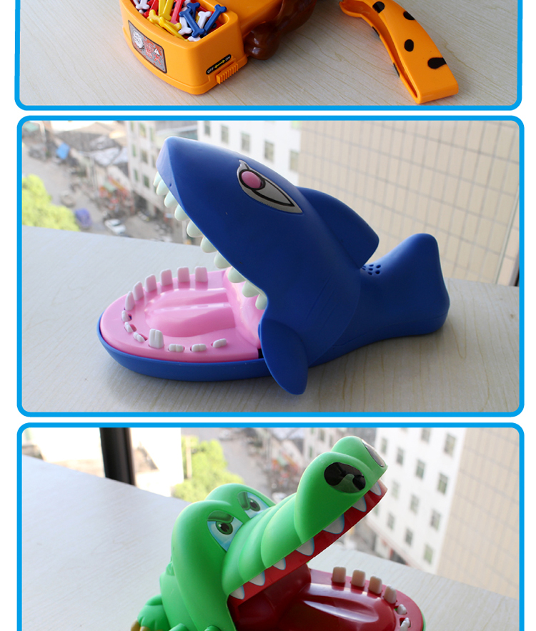 创意生日礼物整蛊咬手指鳄鱼抖音同款玩具